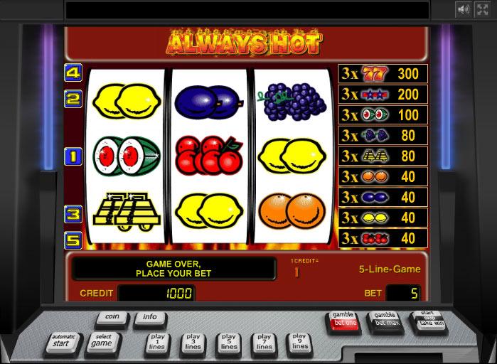 игровые автоматы без депозита за регистрацию